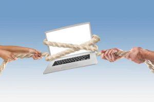 חלוקת רכוש גרושין רבים על מחשב נייד