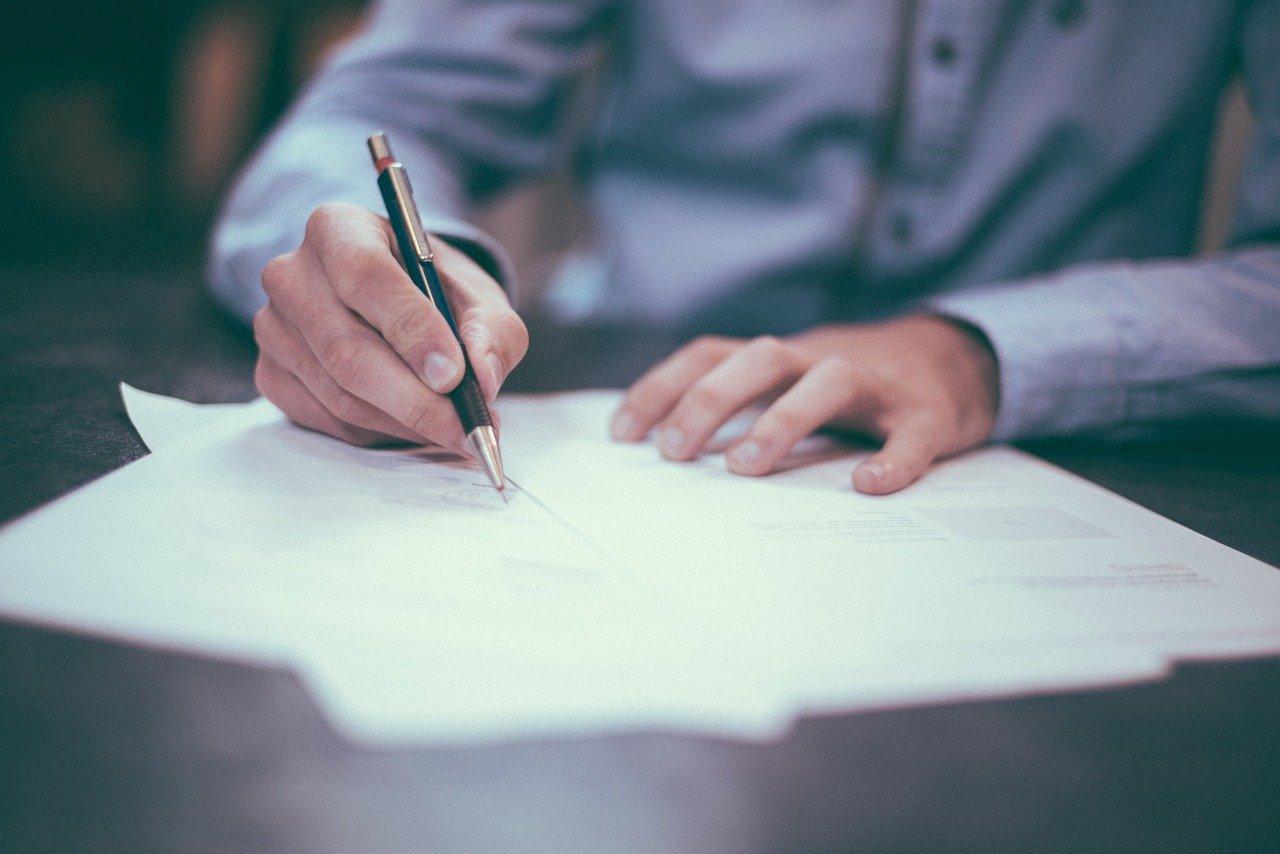 מסמך חלוקת ירושה על פי דין